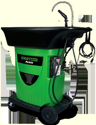Alsco's Ecosafe Washer